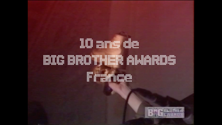 Florilège : 10 ans de Big Brother Awards !