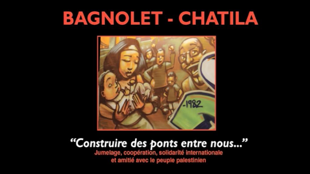 Camp de Chatila (Liban) - Ville de Bagnolet (France)