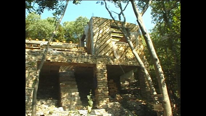Une bio construction à Corconnes (Gard)
