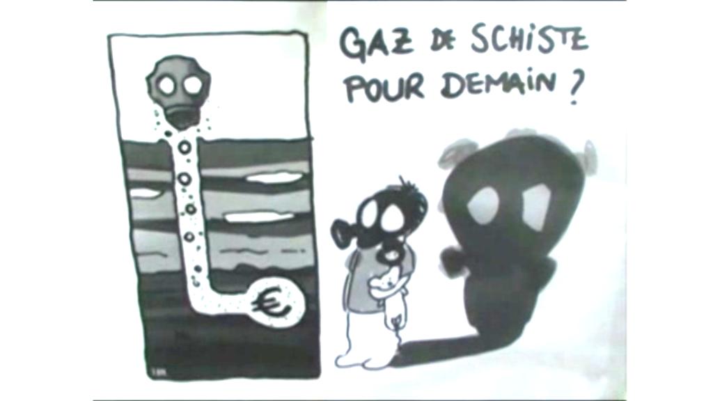 Gaz de Schiste: Rassemblement devant l'Assemblée Nationale le 10 mai 2011