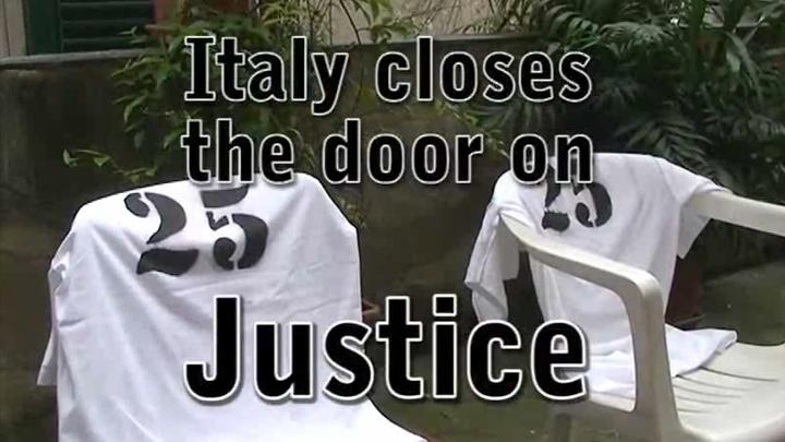 Gênes 2008 : L'Italie ferme la porte à la justice