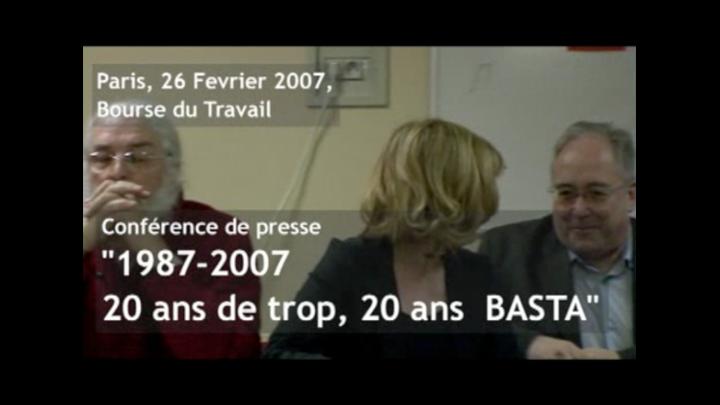Prisonniers d'Action Directe : 20 ans ça suffit ! Conférence de presse intégrale