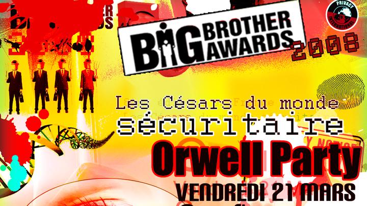 Vendredi 21 mars - Cérémonie des BIG BROTHER AWARDS (bande annonce)