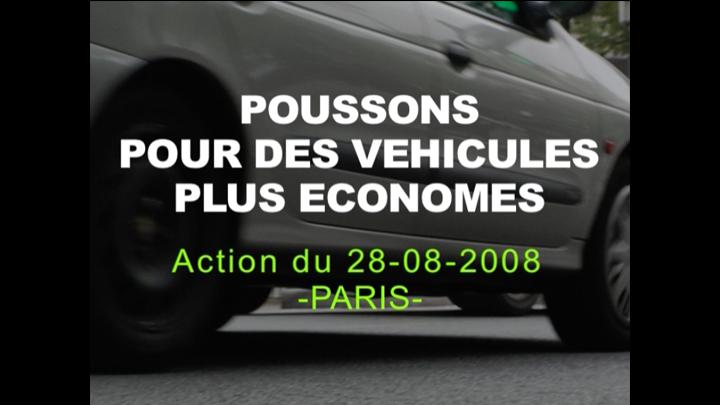 Voitures, CO2 et climat : le Réseau Action Climat France pousse pour des voitures plus économes